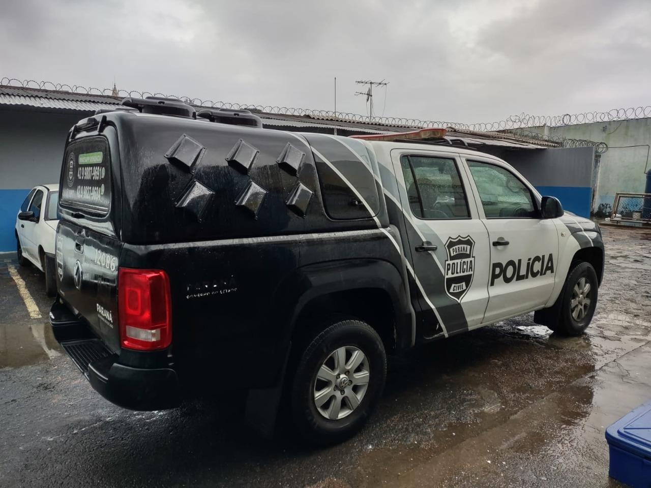 Polícia Civil prende suspeito por tentativa de homicídio em Carambeí