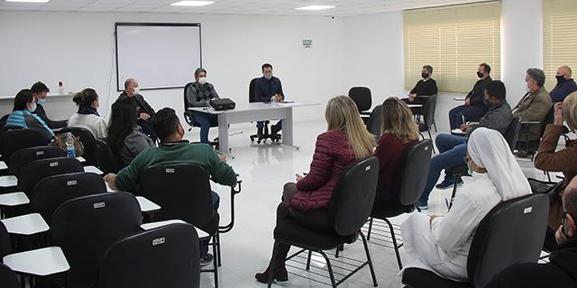 Palmeira, entidades e contadores discutem forma para aumentar doações financeiras
