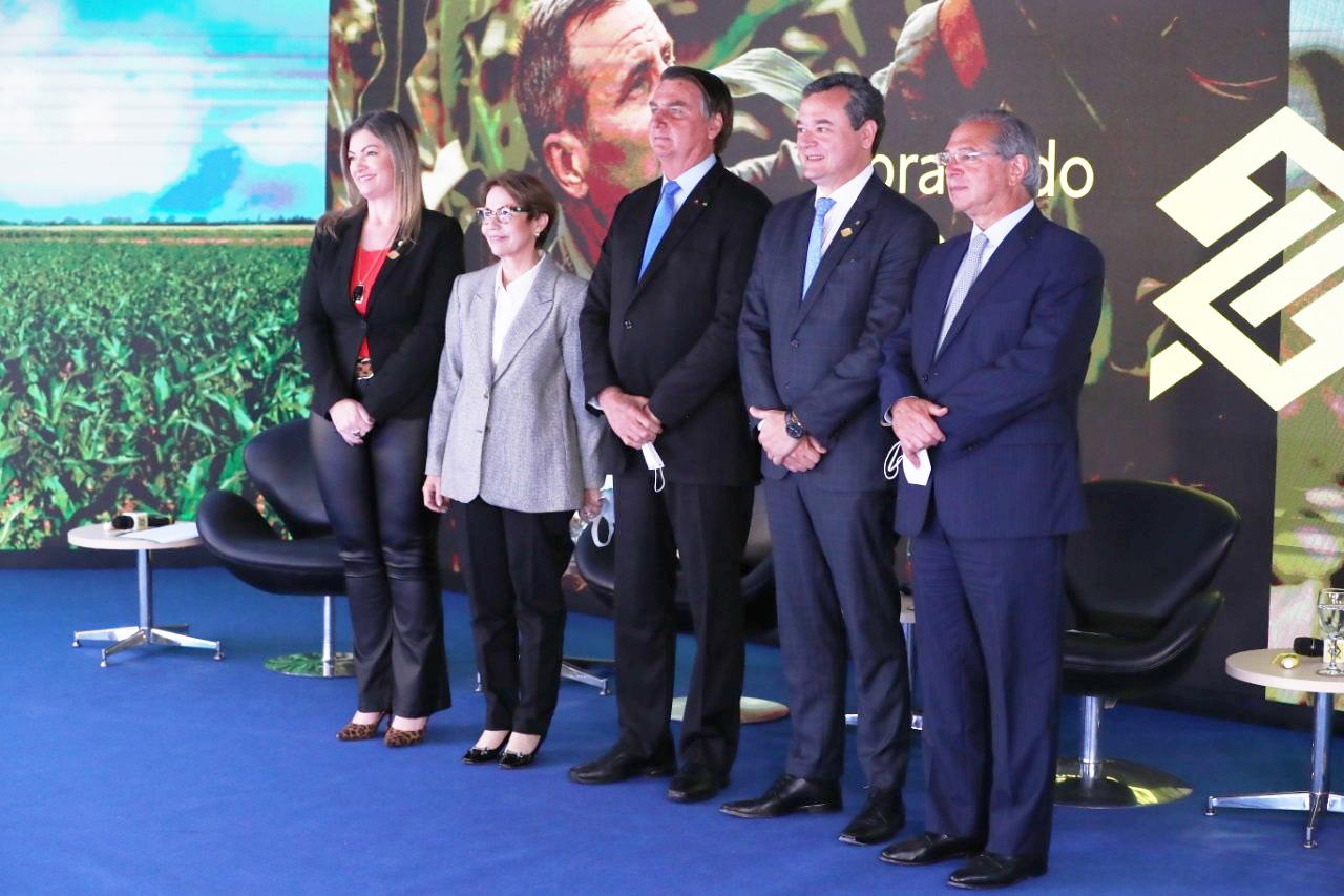 Deputada Aline Sleutjes participa de lançamento do Plano Safra 2021/22