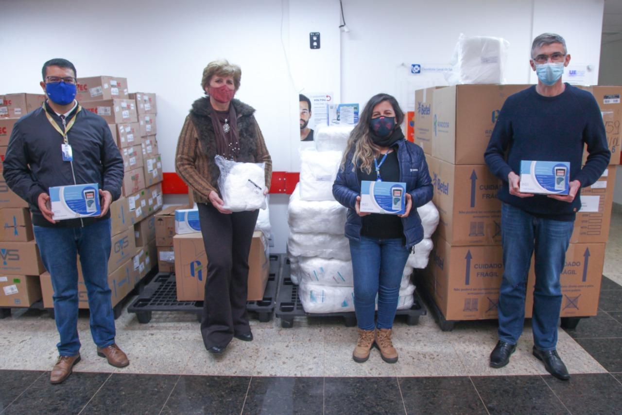 Hospital Universitário da UEPG recebe doação da Cooperativa Castrolanda