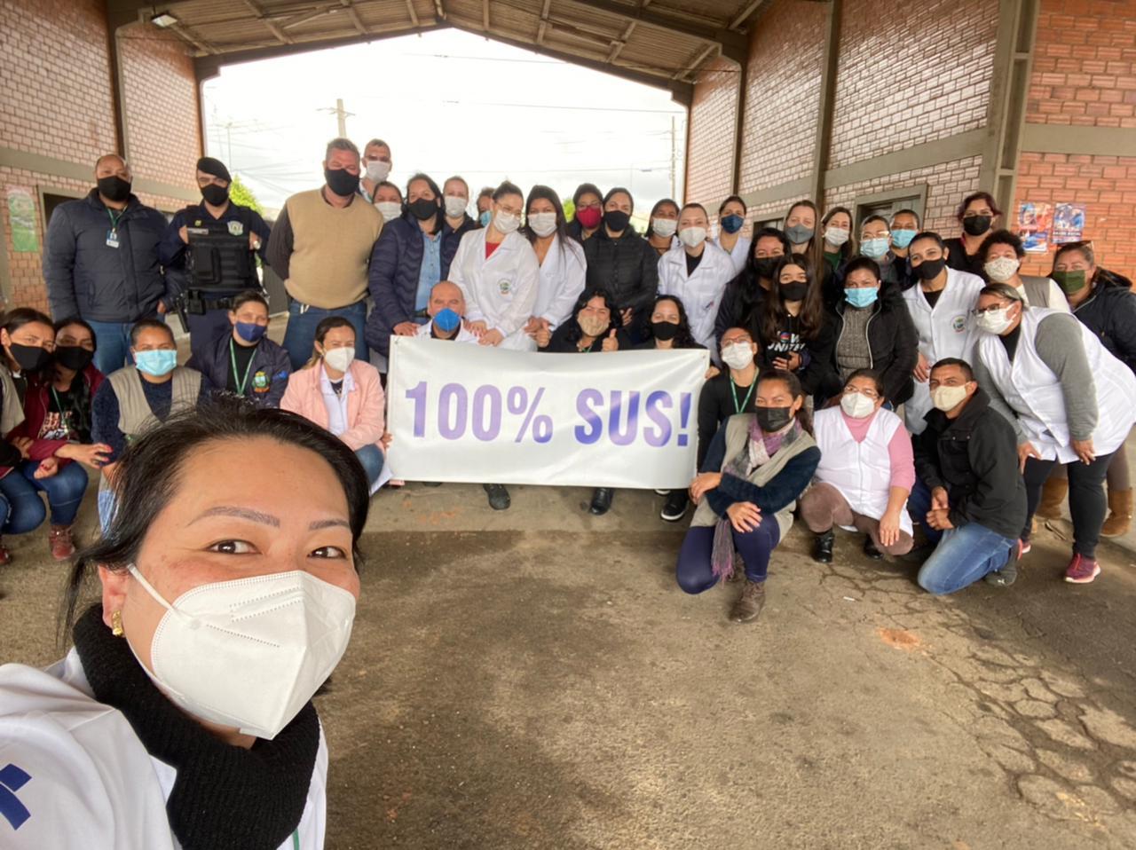 Quase quatro mil castrenses foram vacinados essa semana no município