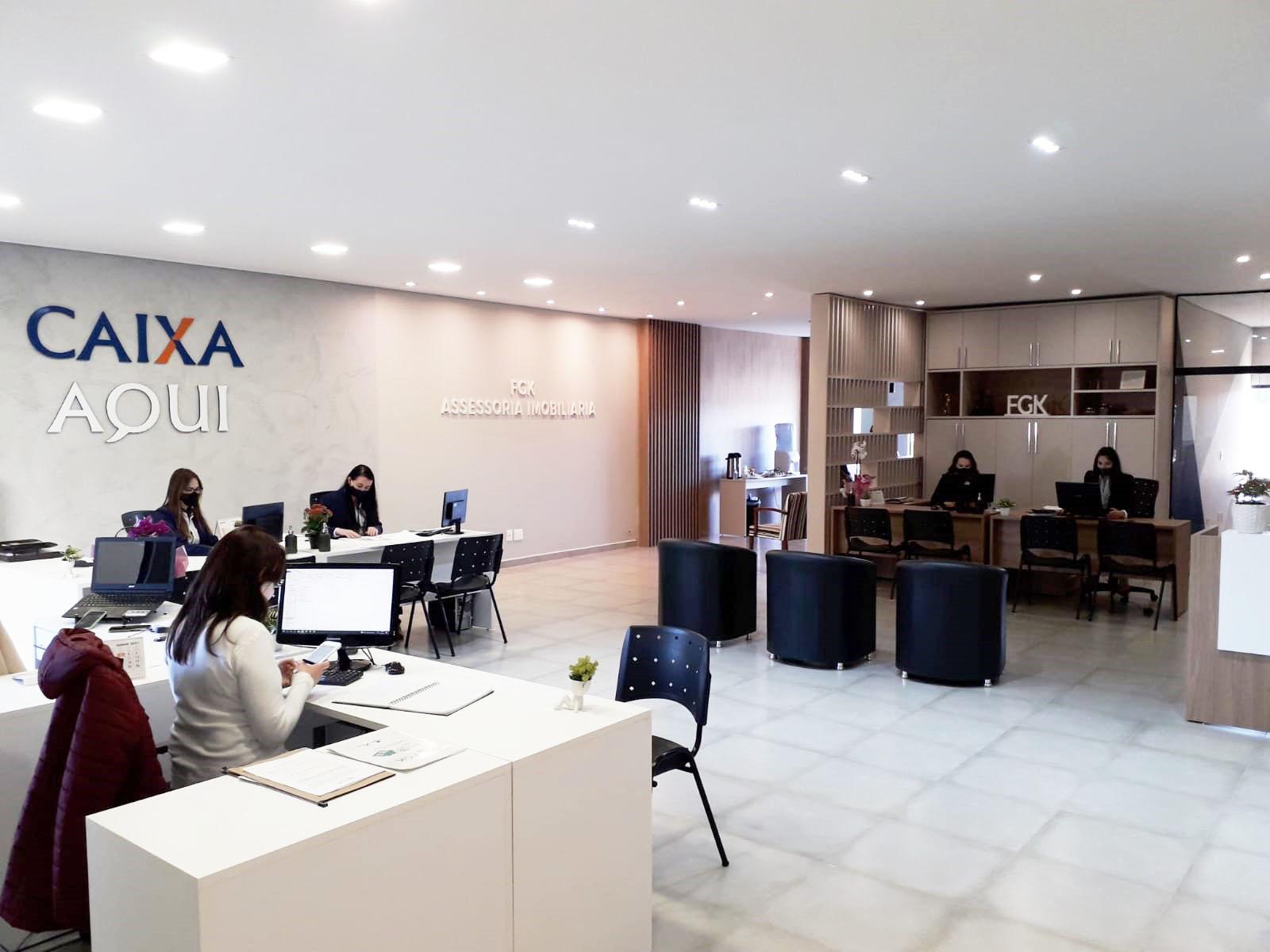 Imobiliária FGK e Caixa Aqui inauguram novíssimo espaço em Castro