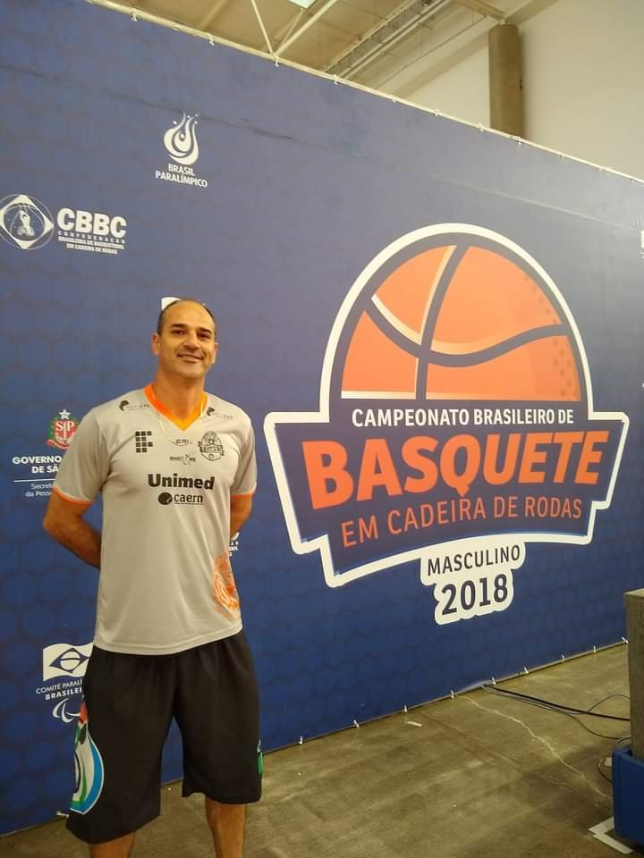 Técnico do BCR Castro é nomeado assistente da Seleção Brasileira Masculina de Basquete em Cadeira de Rodas