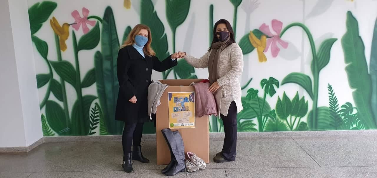 Social recebe agasalhos arrecadados pela Educação em Castro