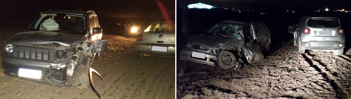 Colisão deixa homem ferido na estrada Capão Alto