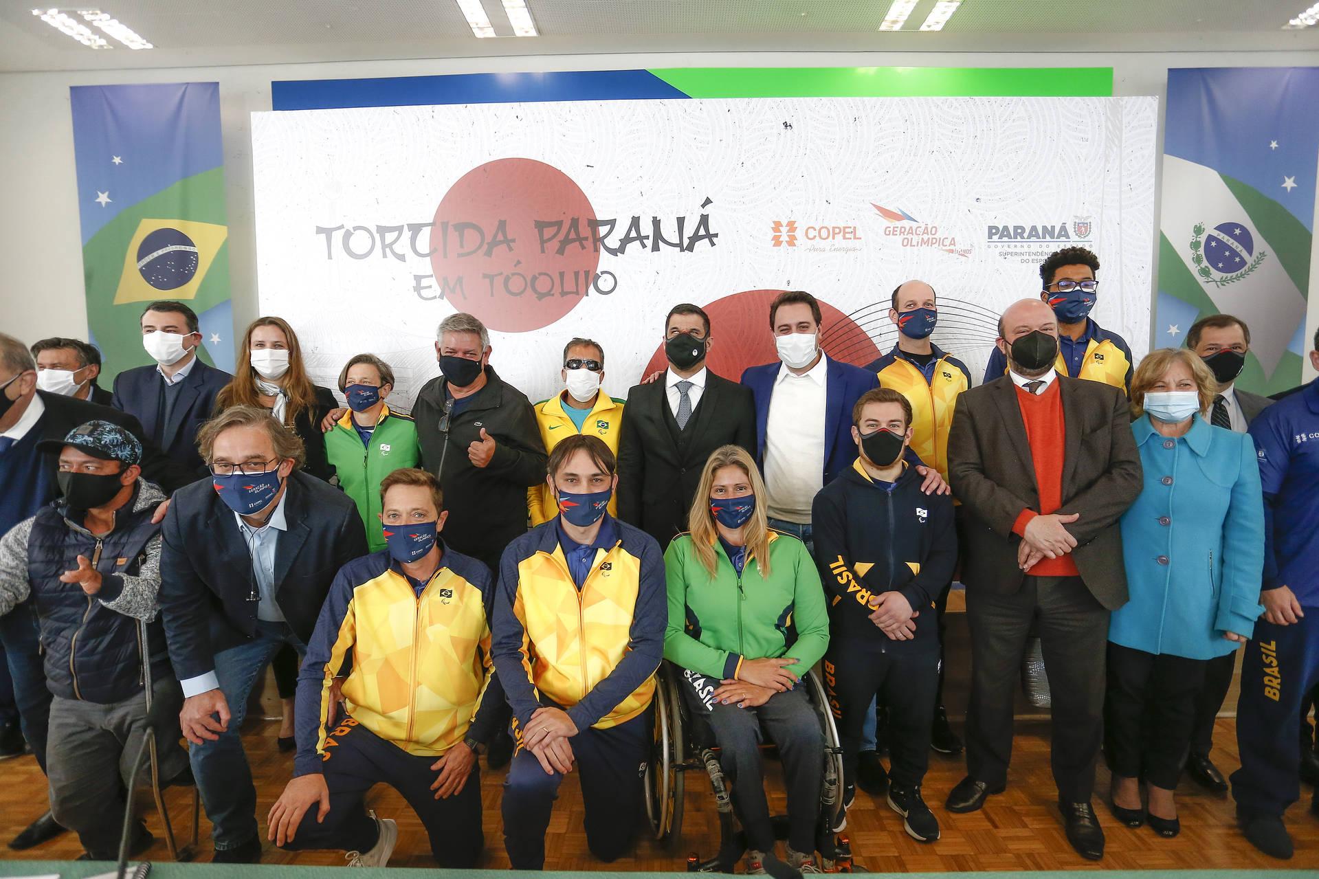 Com suporte do Estado, Paraná terá a maior delegação da história nos Jogos de Tóquio 2020