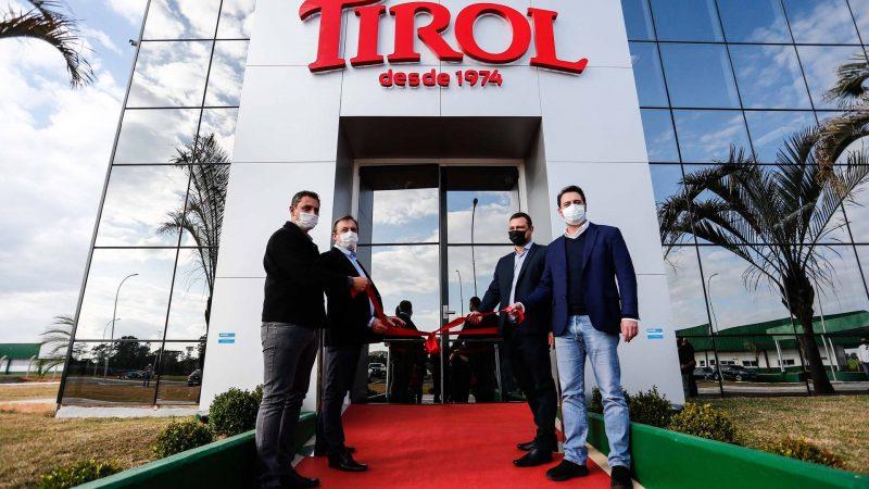 Ratinho Junior participa da inauguração da Tirol, maior investimento da história de Ipiranga