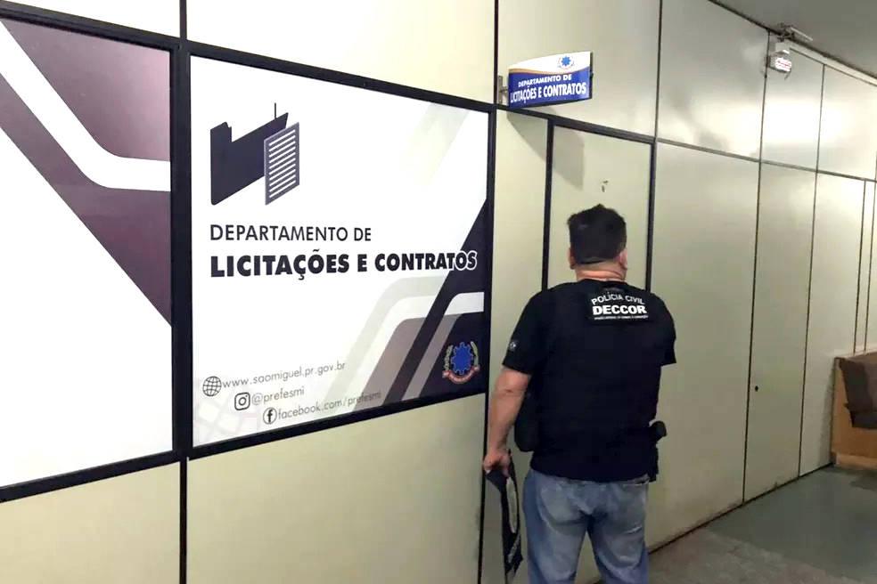 Polícia Civil mira organização criminosa envolvida em fraudes de licitações de prefeituras
