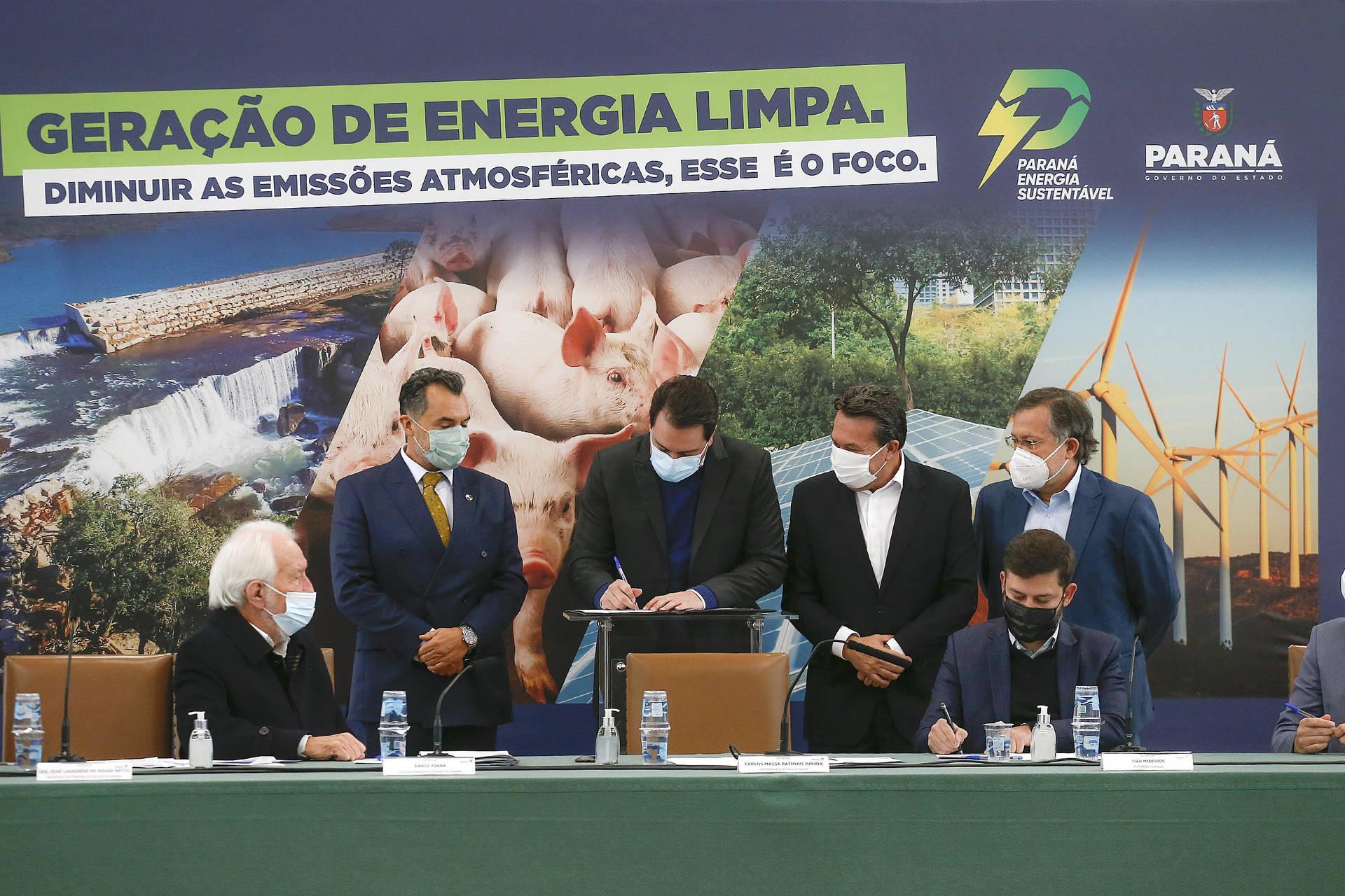 Paraná agiliza licenciamento de empreendimentos para produção de energia limpa