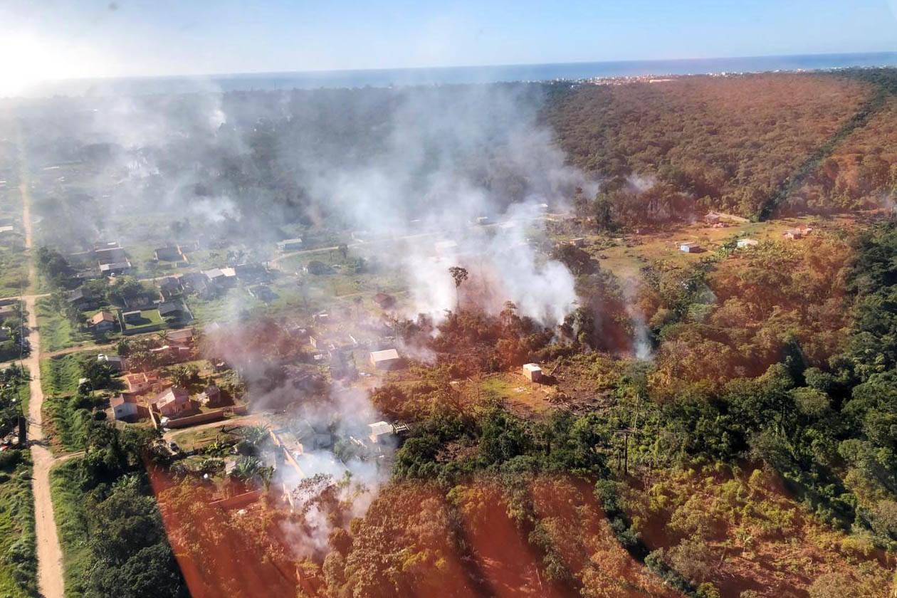Paraná registra queda de 30% nos incêndios florestais no 1º quadrimestre