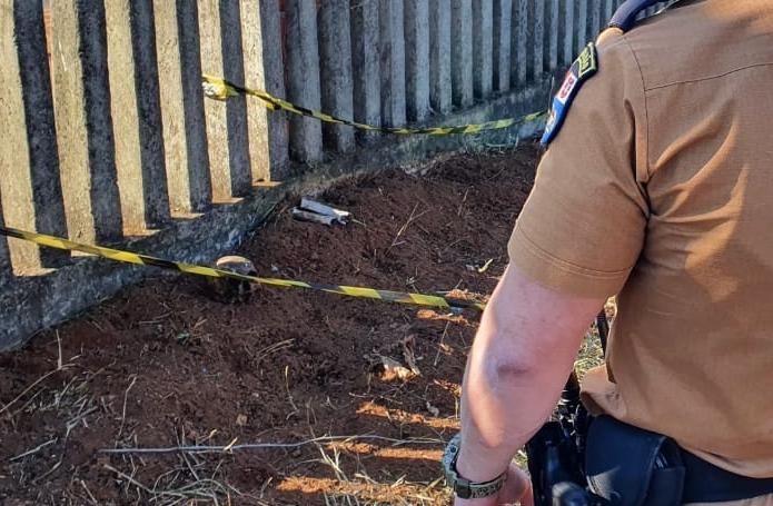 Crânio de criança é encontrado em terreno