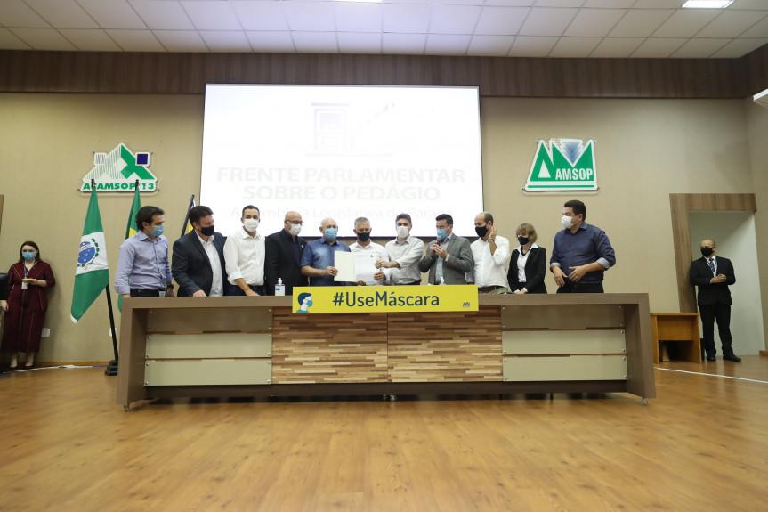 Frente Parlamentar mobilizou o Paraná na luta por um modelo de pedágio justo e eficiente