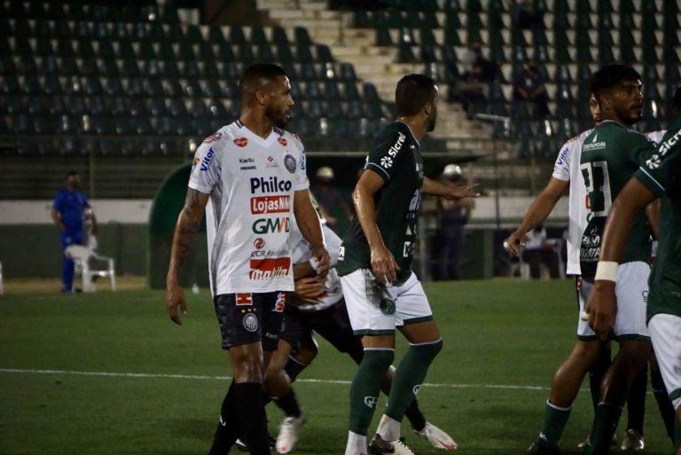 Operário perde de 3 a 0 para o Guarani pela Série B