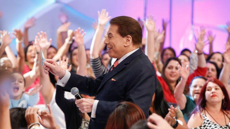 Silvio Santos testa positivo para Covid-19 e é hospitalizado