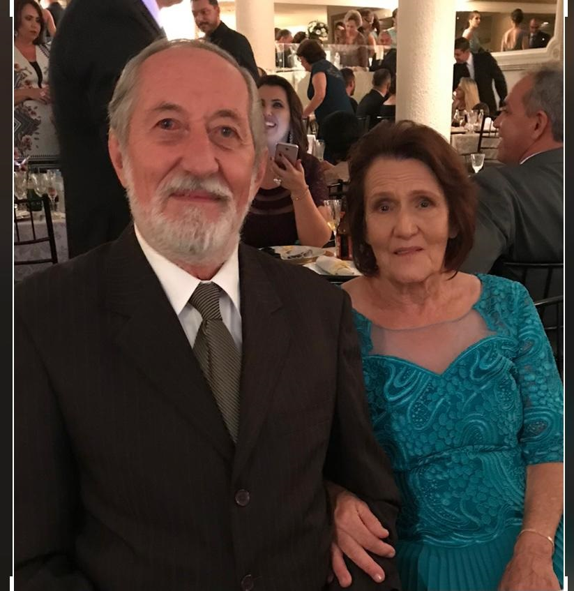 Antenor Alberti Guimarães e  Elizabete Alberti Guimarães