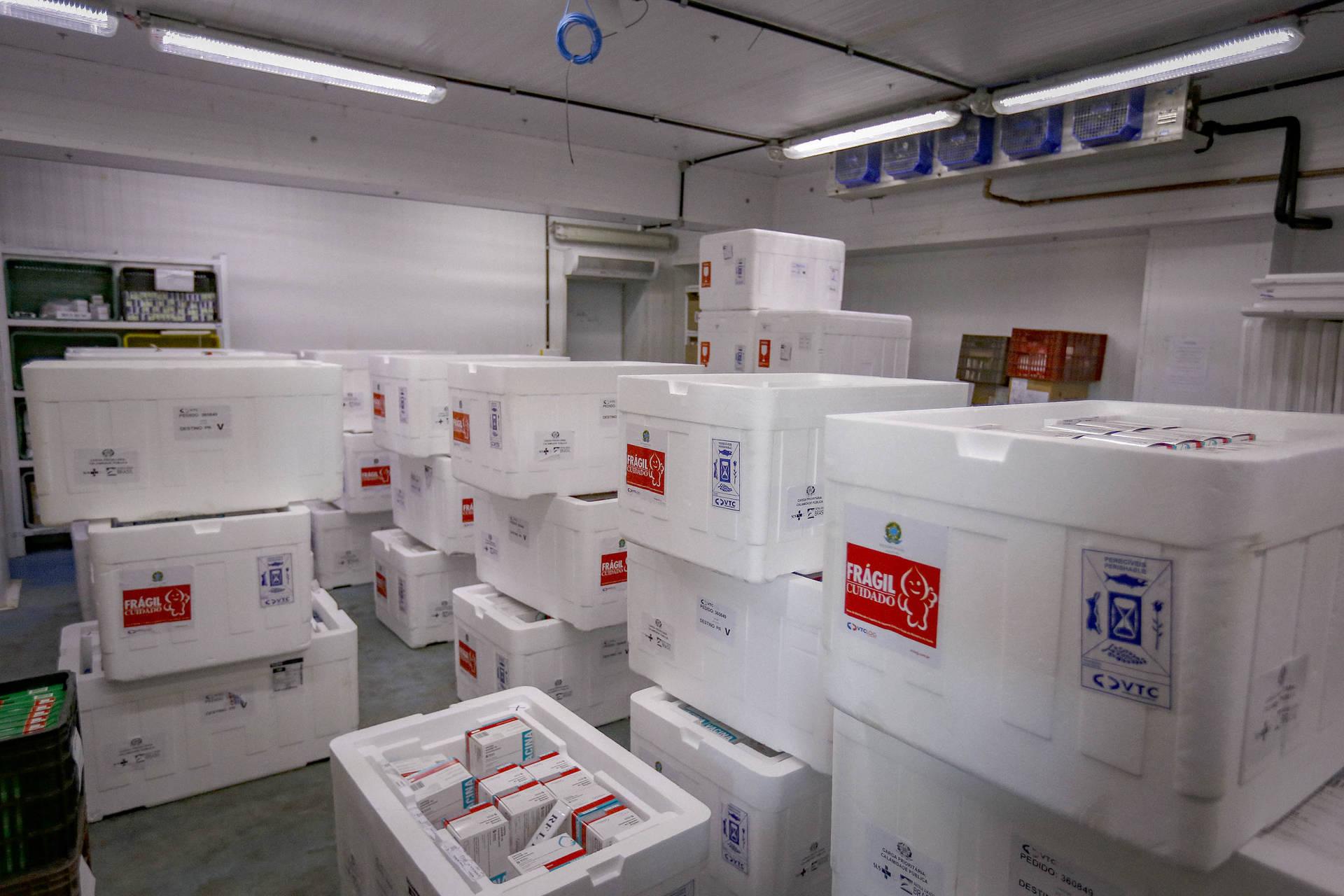 Paraná receberá mais 187.470 vacinas contra a Covid-19