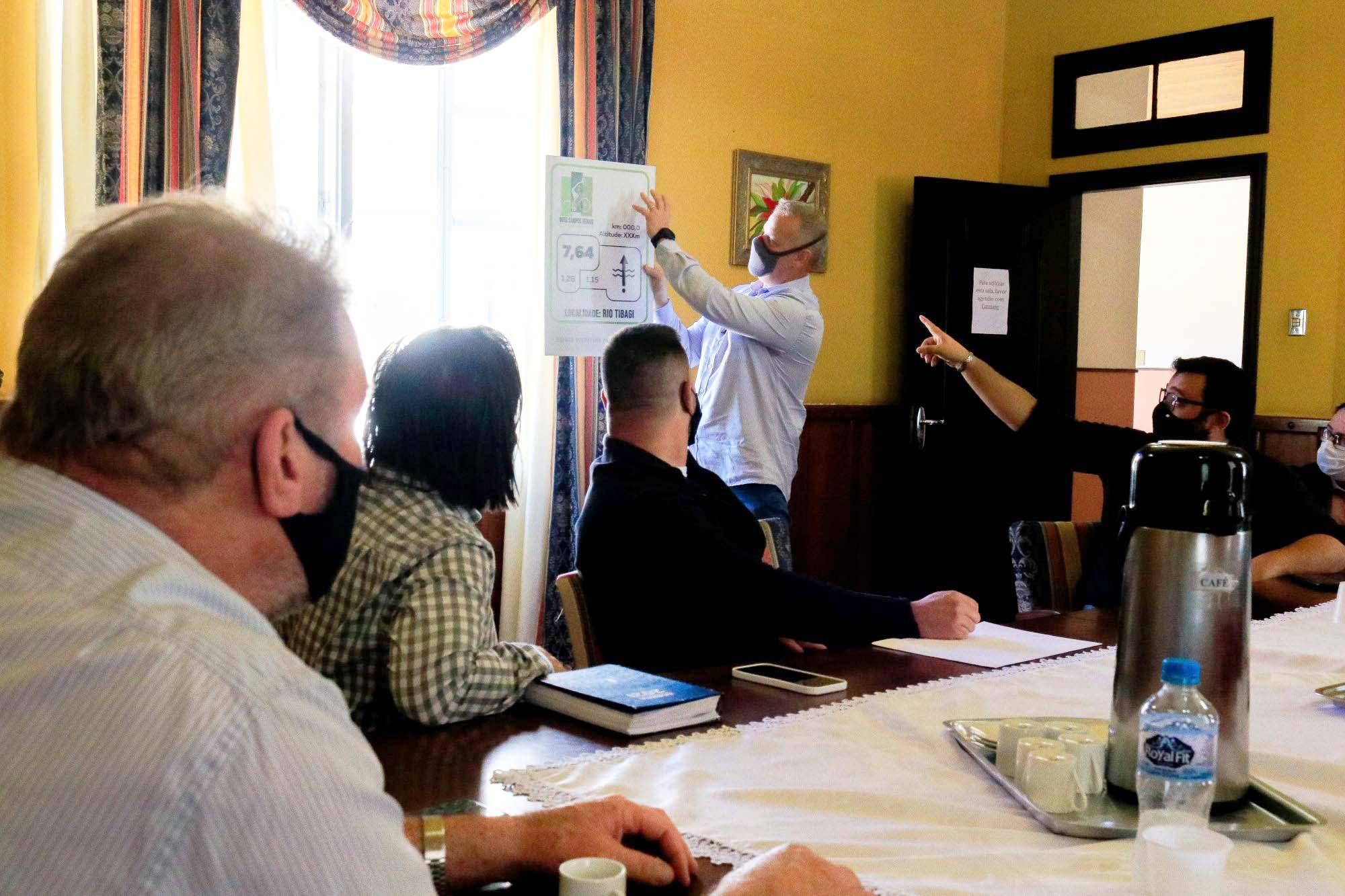 Cicloturismo é debatido entre prefeitos da região