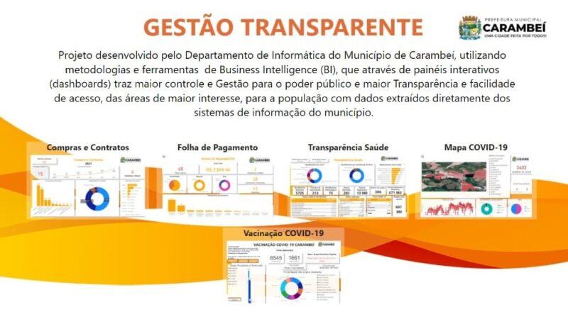 Prefeitura de Carambeí avança no Gestão Transparente