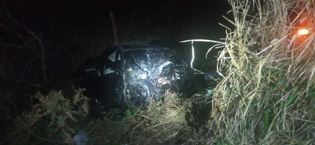 Motorista de Gol morre ao colidir de frente com Amarok na BR-376