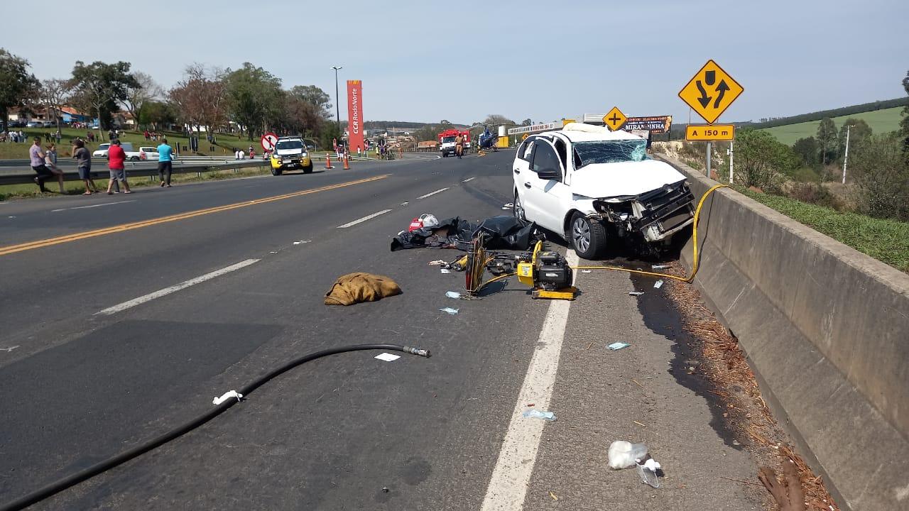 Motorista de Gol morre em colisão com caminhão na PR-092