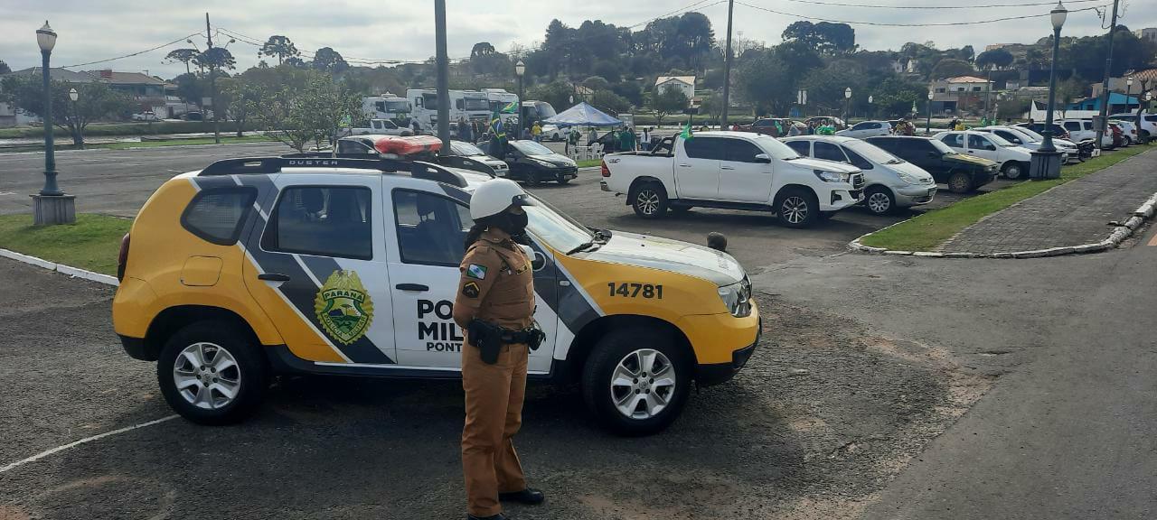 PM garante segurança durante manifestações populares na região