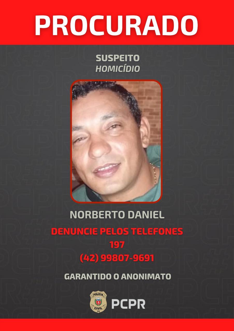 Polícia Civil divulga foto de suspeito de homicídio em hamburgueria de PG