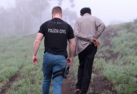 Civil de Castro prende homem por estuprar enteada