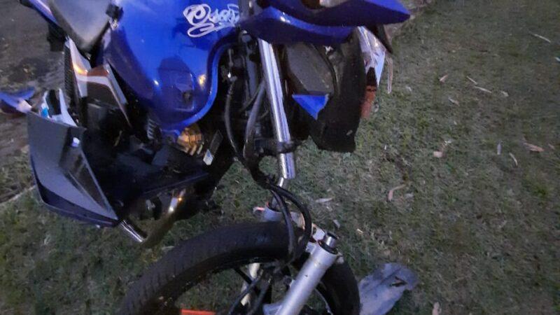 Motociclista fica ferido gravemente em acidente na PR-090