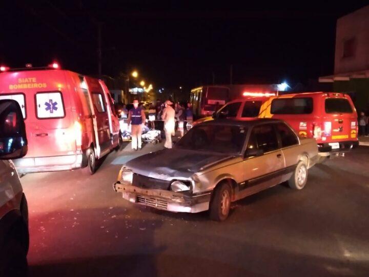 Motociclista morre em hospital após acidente no Jardim Alvorada