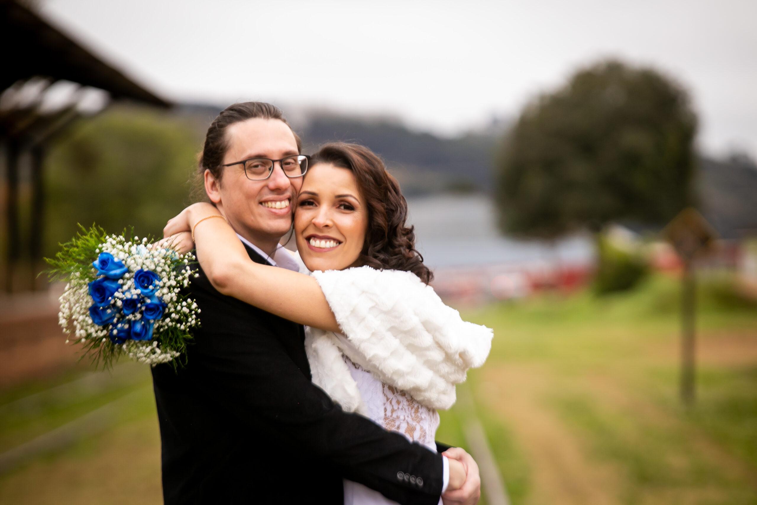 Celenita Ramalho e Guilherme Fahl Caracini