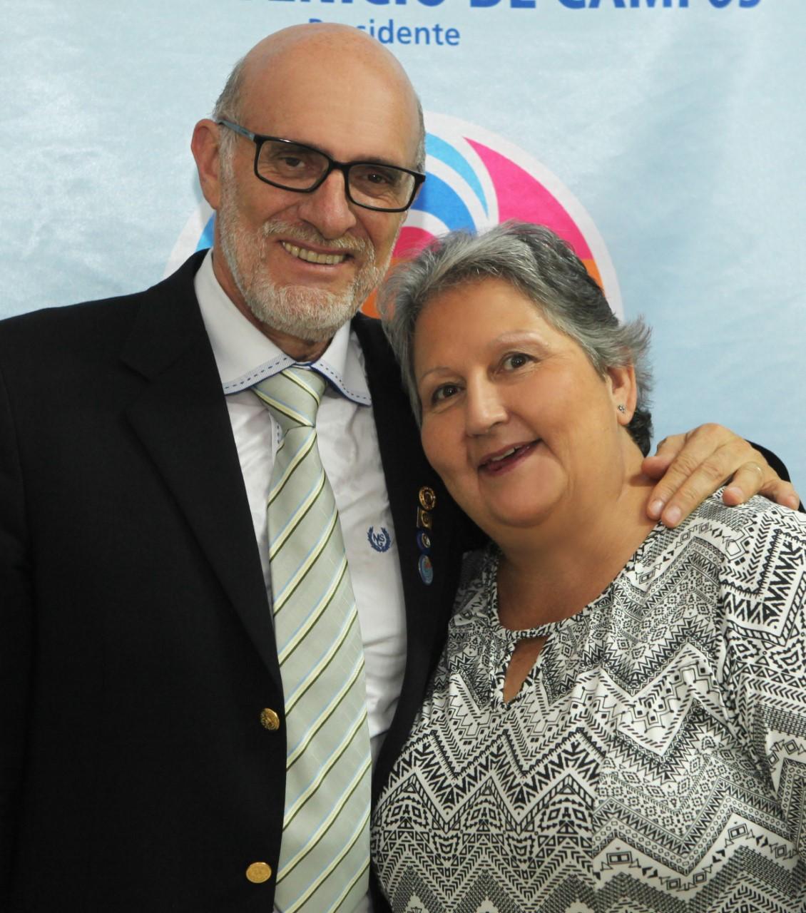 Rosilda e Inácio Boschi de Campos