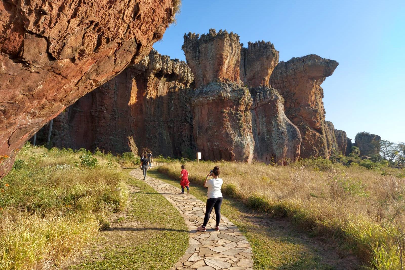 Marca do turismo paranaense, Vila Velha recebeu mais de 57 mil visitantes após reabertura