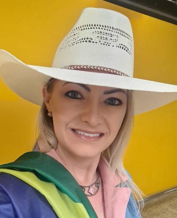 Deputada Aline Sleutjes: 'Dia 7 pela liberdade e democracia'