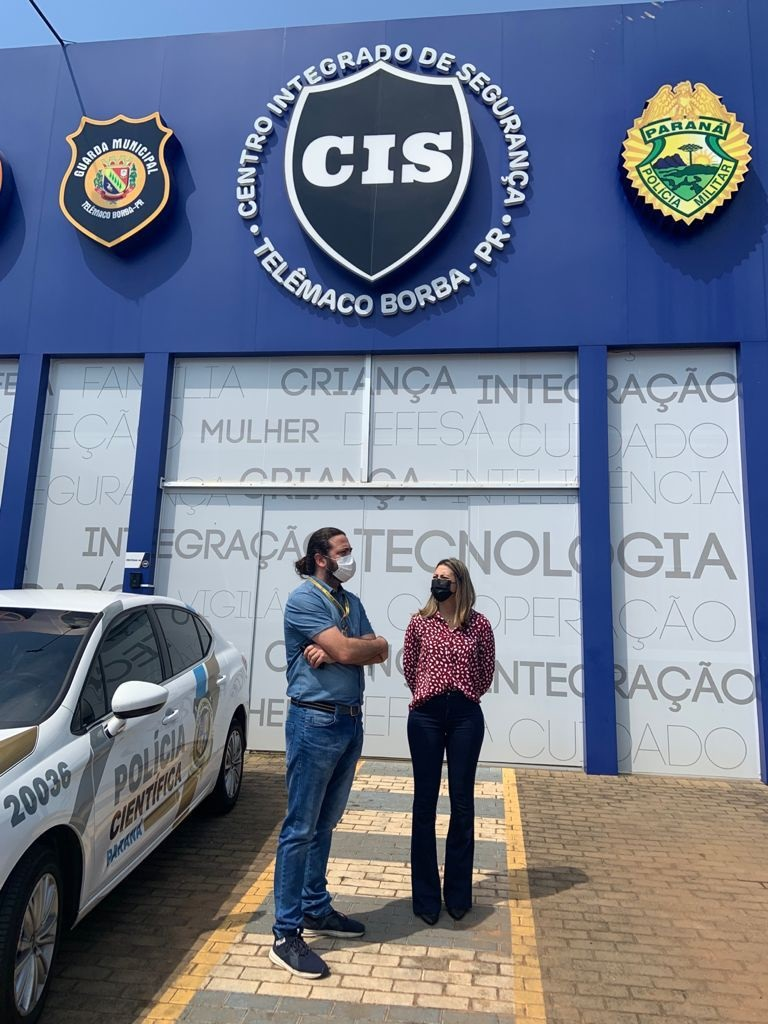 Mabel Canto entrega viatura ao SIATE e emenda à nova Unidade do Instituto de Criminalística de Telêmaco Borba