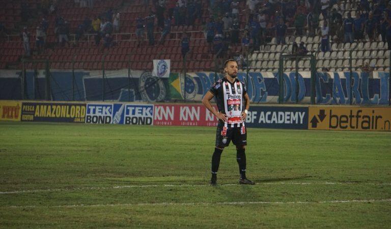 Com gol de Paulo Sérgio, Operário empata com o Cruzeiro na Série B