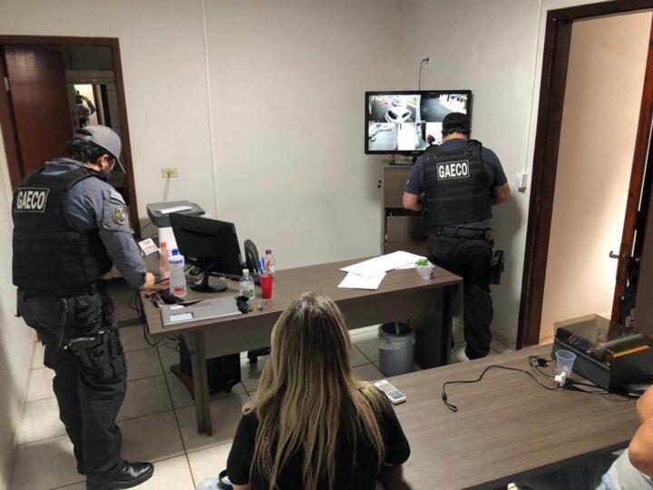 Gaeco cumpre mandados contra suspeitos de explorar jogos de azar em PG