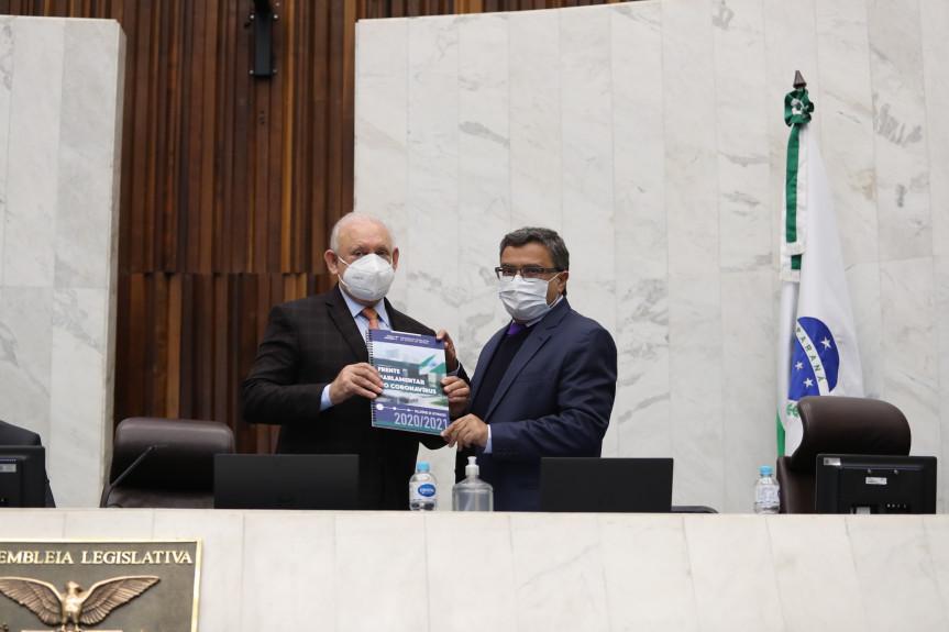 Frente Parlamentar encaminha relatório a CPI do Covid no Senado