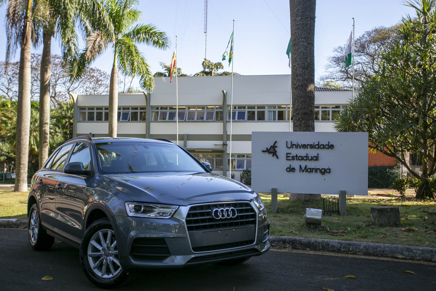 Audi doa carro à Engenharia Mecânica da UEM para uso em ensino e pesquisa