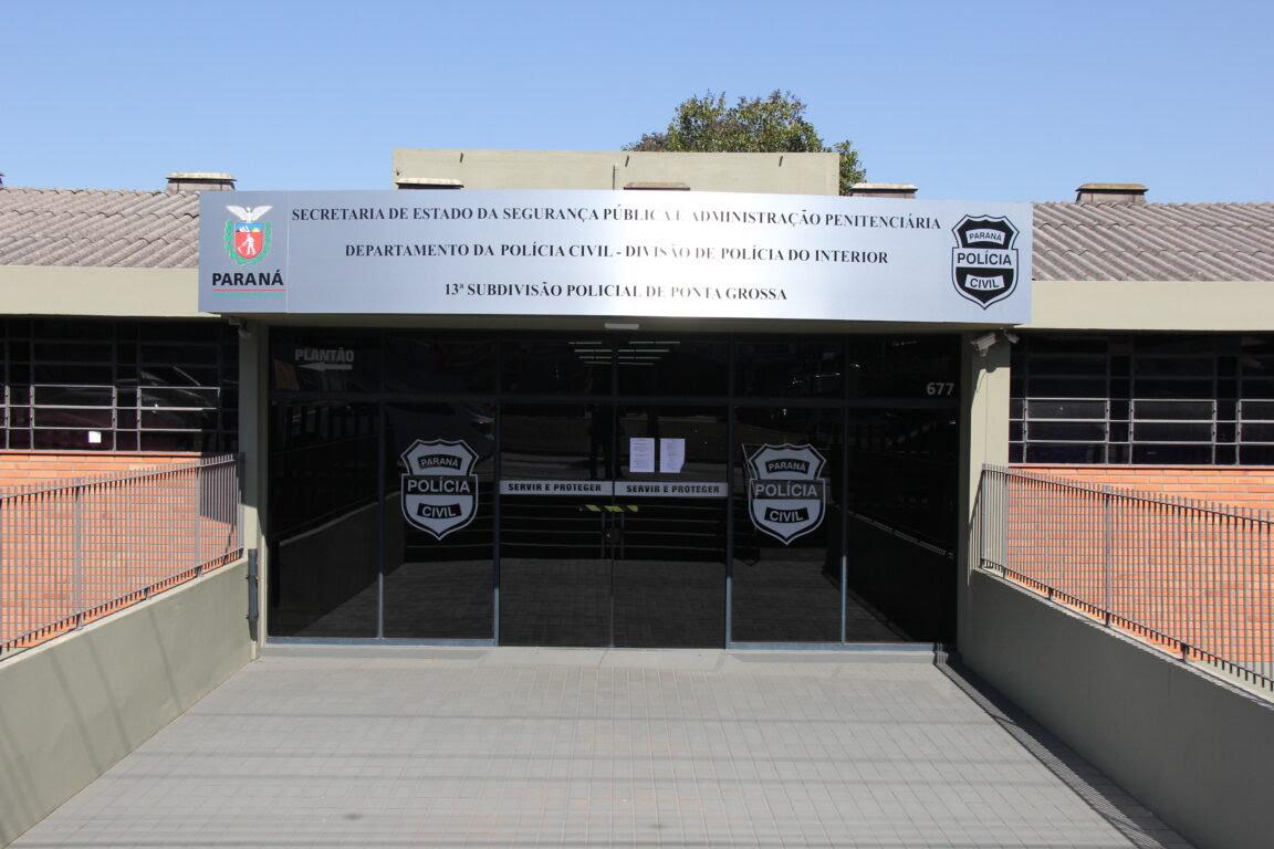 Rapaz preso por violência doméstica se mata na 13ª SDP em PG