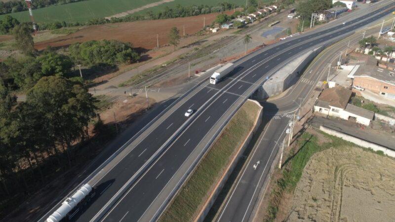 CCR RodoNorte avança em obras e motoristas já podem utilizar novo acesso à Bocaina