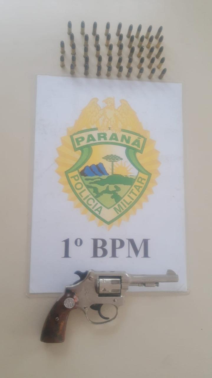 PM prende padrasto que ameaçou sua enteada com revólver em PG