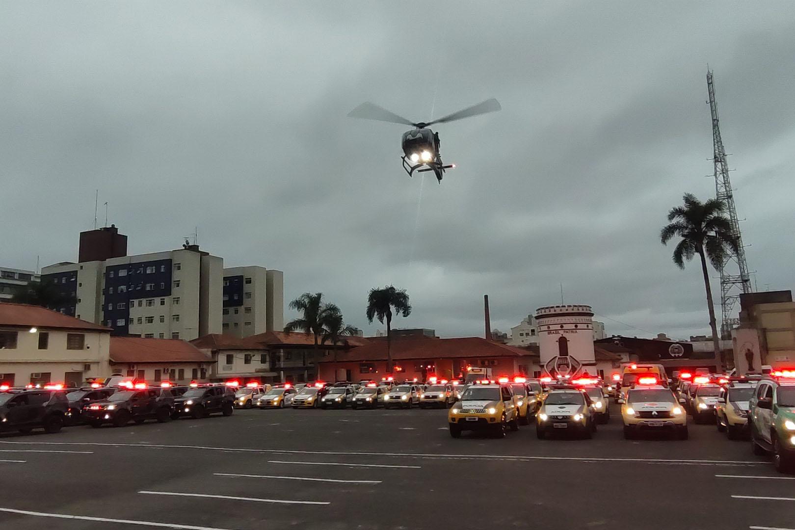 Polícia Militar passa a reforçar o policiamento no Paraná com a Operação Fecha Quartel