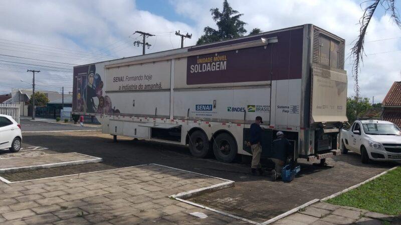 Senai traz curso para soldadores em Castro