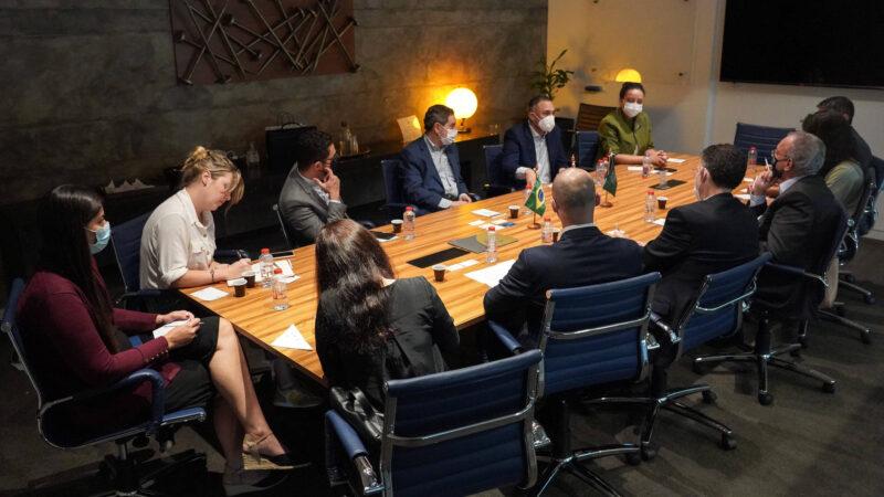 Paraná visita Câmara de Comércio Árabe-Brasileira para fortalecer relação comercial com países árabes