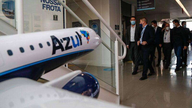 Com retomada de quatro linhas e voos para outras 11 cidades, Paraná será maior destino da Azul no País