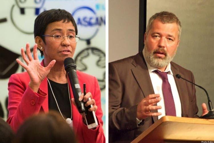 Nobel da Paz premia dois jornalistas que defendem a liberdade de expressão